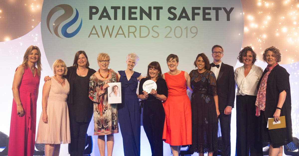 Patient Safety Award win